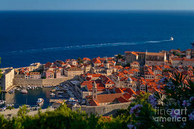 Dubrovnik From Above, Croatia Poster