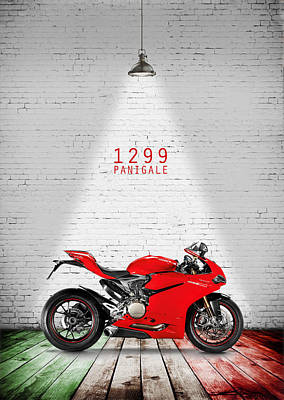 Ducati 1299 Panigale Poster by Mark Rogan