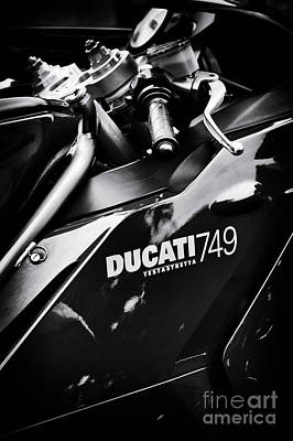 Ducati 749 Testastretta Poster by Tim Gainey