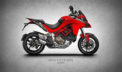 Ducati Multistrada Poster by Mark Rogan