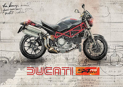 Ducati S4rs Poster