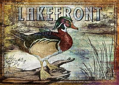 Duck Sign II Poster