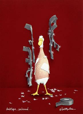 Duck Tape Unbound Poster