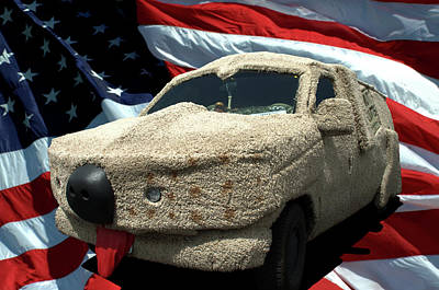 Dumb And Dumber Vehicle Replica Poster