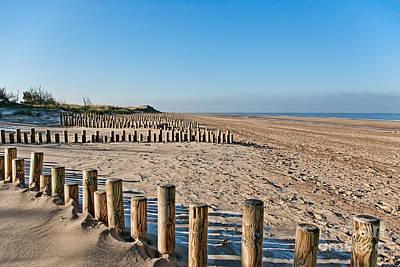 Dune Conservation Holme Dunes North Norfolk Uk Poster by John Edwards