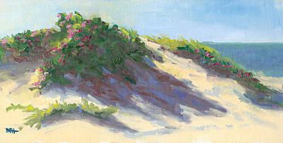 Dune Roses Poster by Barbara Hageman