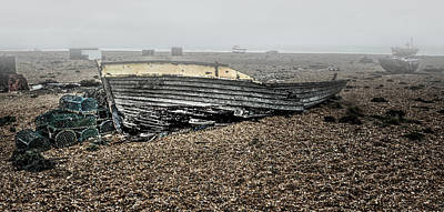 Dungeness Decay Poster by Huet Bartels