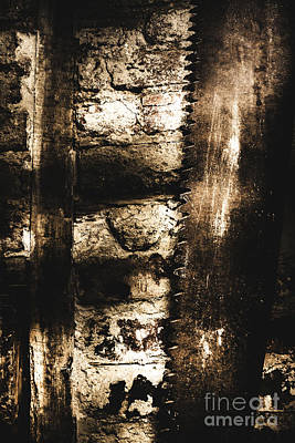 Dungeon Saw  Poster by Jorgo Photography - Wall Art Gallery