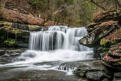 Dunloup Creek Falls Poster
