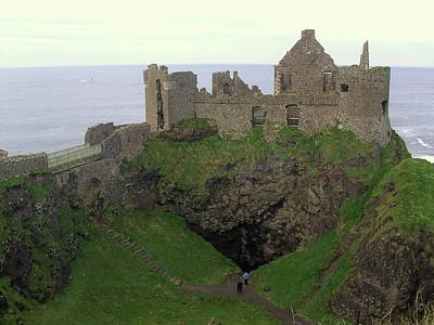 Dunluce Castle Poster