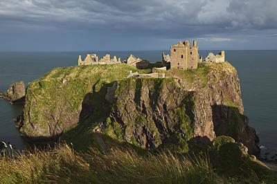 Dunnottar Castle, South Of Stonehaven Poster by Carl Bruemmer