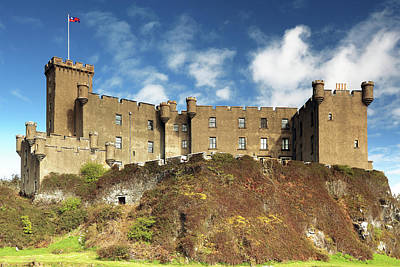 Poster featuring the photograph Dunvegan Castle by Grant Glendinning
