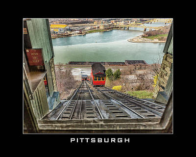 Duquesne Incline Poster by Eclectic Art Photos