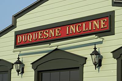 Duquesne Incline Poster by Frozen in Time Fine Art Photography