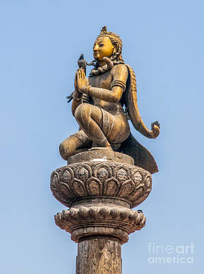 Durbar Square Patan Nepal  Poster