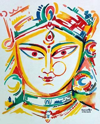 Durga - The Goddess Of Power Poster