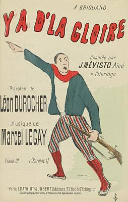 Durocher And Marcel Legay Poster
