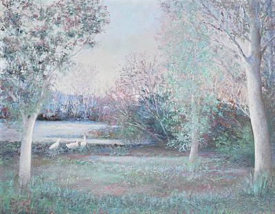 Dusk Landscape Poster