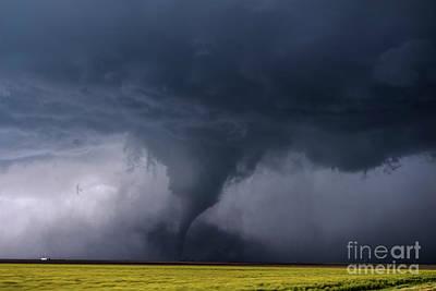 Dusty Tornado Poster