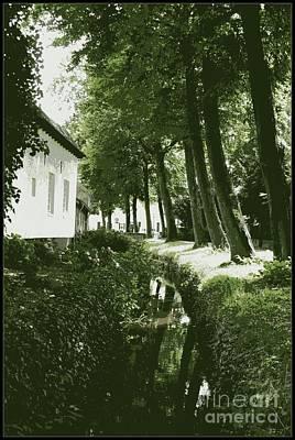 Dutch Canal - Digital Poster by Carol Groenen