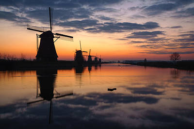 Dutch Colors Poster by Martin Podt