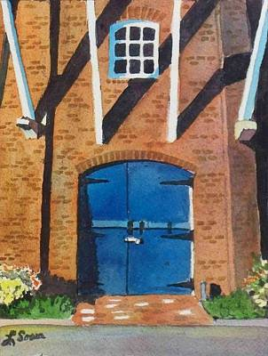 Poster featuring the painting Dutch Door by LeAnne Sowa