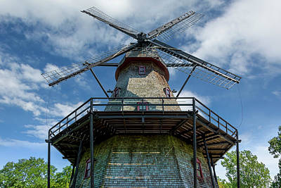 Dutch Smock Mill Poster