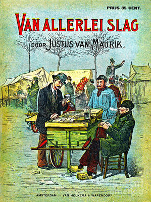 Dutch Smoking Pipes 1881 Poster