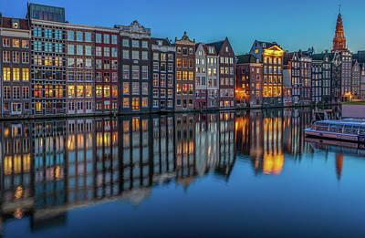 Dutch Windows Poster by Reinier Snijders
