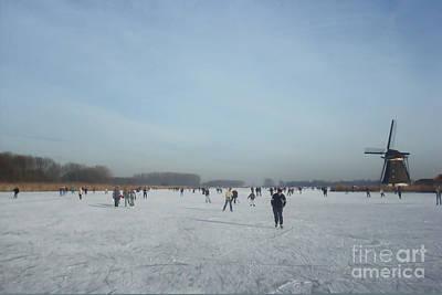 Dutch Winter Landscape Poster