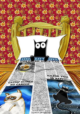 Duvet Cover Poster by Andrew Hitchen
