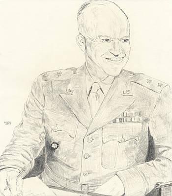 Dwight D. Eisenhower Poster by Dennis Larson