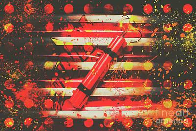 Dynamite Artwork Poster