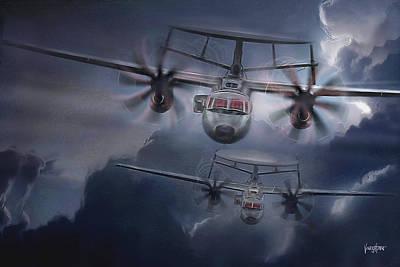 E-2d Hawkeye Poster