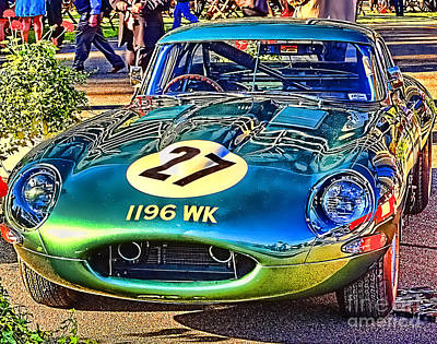 E-type - Colour I Poster by Jack Torcello