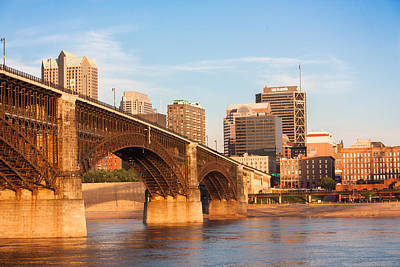 Eads Bridge At St Louis Poster