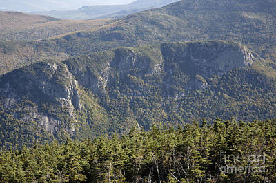 Eagle Cliff - Franconia Notch State Park New Hampshire Poster by Erin Paul Donovan