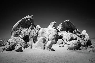 Poster featuring the photograph Eagle Rock Infrared by Alexander Kunz