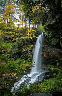 Early Autumn At Dry Falls Poster