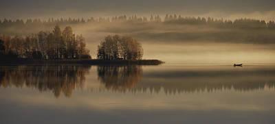 Early Autumn Morning Poster by Pekka Ilari T