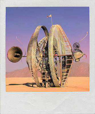 Early Mars Rover Design Poster