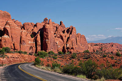 Early Morning Arches National Park Utah 08 Poster