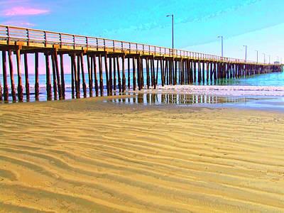 Early Morning At Avila Beach Poster