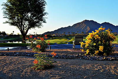 Early Morning At The Dunes Golf Course - La Quinta Poster