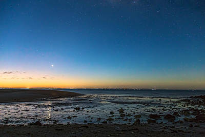 Early Morning Bantayan Starry Sunrise Poster