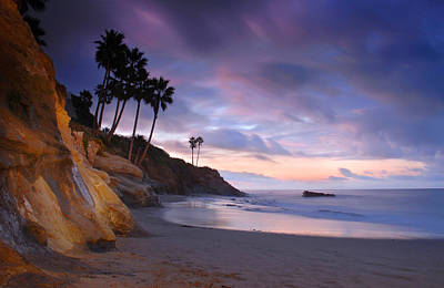Early Morning In Laguna Beach Poster