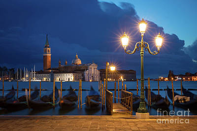 Poster featuring the photograph Early Morning In Venice by Brian Jannsen
