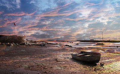 Early Morning Low Tide On The North Shore Poster