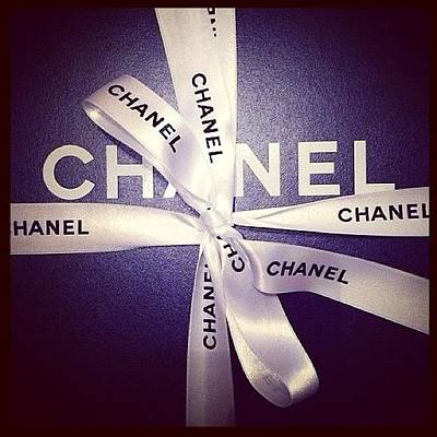 Early Xmas Present! 😍 #chanel Poster by Myrtali Petrocheilou