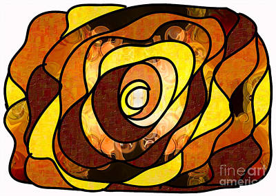 Earthly Dimensions Abstract Organic Art By Omaste Witkowski Poster by Omaste Witkowski
